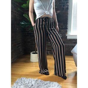 Target High Waisted Pinstripe Pants